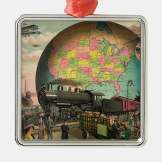 Trains, Planes & Everything Else Christmas Ornament