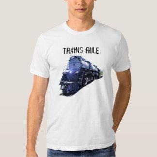 Trains Rule T-shirts