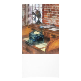Trains - Station Master s Office Photo Greeting Card