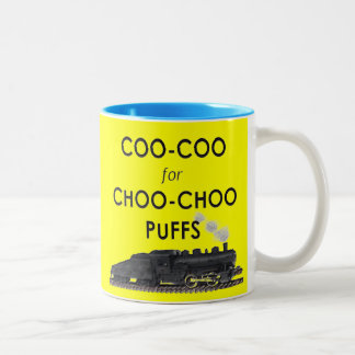 TRAINS Two-Tone MUG