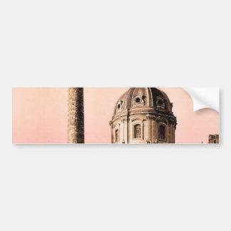 Trajan s Pillar Rome Italy classic Photochrom Bumper Stickers