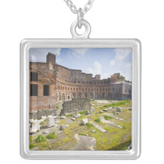 Trajan's Market (Latin: Mercatus Traiani, 2 Silver Plated Necklace