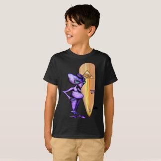Trakir from Align Star Surfers Anime T-Shirt