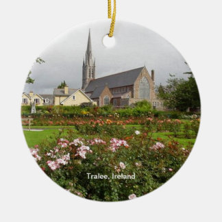 Tralee Ireland, Rose Garden, Town Park Christmas Ornament
