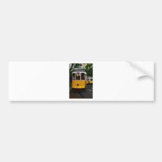 Tram 28, Lisbon, Portugal Bumper Sticker