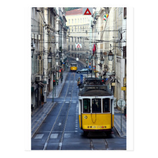 Tram 28, Lisbon, Portugal Postcard