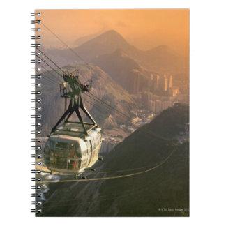 Tram in Rio de Janeiro, Brazil Spiral Notebook