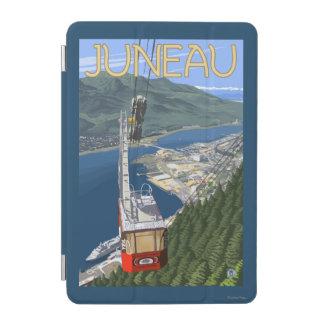Tram over Juneau, Alaska Vintage Travel Poster iPad Mini Cover