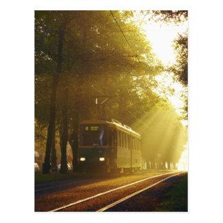 Tram Postcard