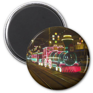 Tram Train - Blackpool Illuminations Magnet