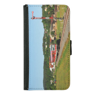 Tramcar with Muenchhausen Samsung Galaxy S5 Wallet Case