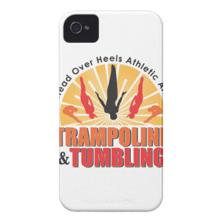 Trampoline and Tumbling Cover iPhone 4 Cases