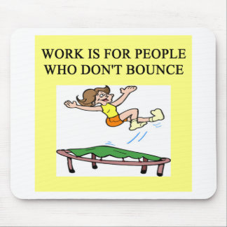 trampoline bounce mouse pads
