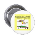 trampoline bounce pinback buttons