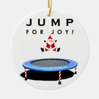 Trampoline Christmas Christmas Ornament