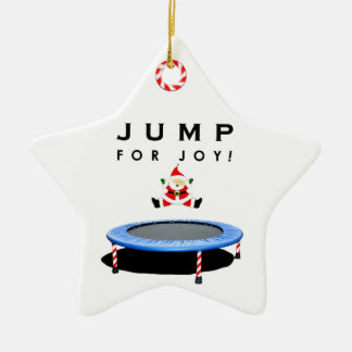 Trampoline Christmas Collectible Christmas Ornament