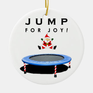 trampoline Christmas ornament