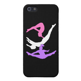 Trampoline gymnast iPhone 5 cover