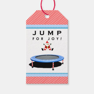 Trampoline Holidays Gift Tags