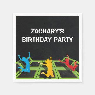 Trampoline Park Kids Birthday Party Disposable Napkins
