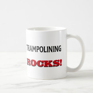 Trampolining Rocks Mug