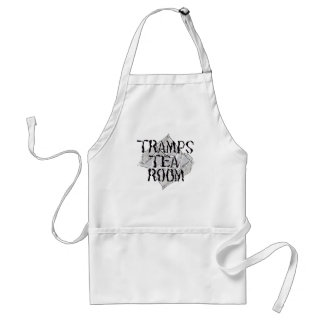 tramps tea room Apron