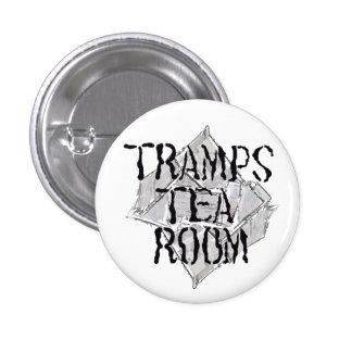 tramps tea room badge pin