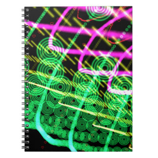 Trance Abstract Dj Notebook