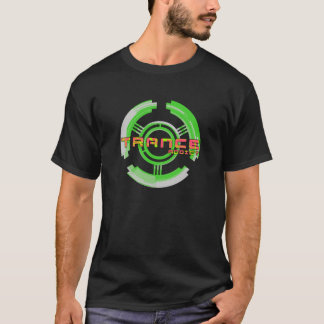 trance addict t shirt green