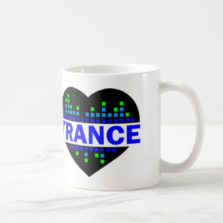 Trance Heart design Coffee Mug