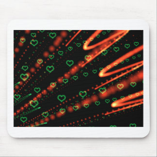 Trance Hearts Mouse Pad
