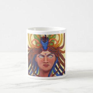 Trance Medusa (detail) Classic White Coffee Mug