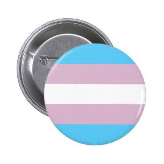 Trangender pride! 6 cm round badge
