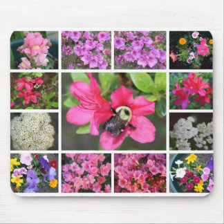 Tranguil Beauty of Nature in Flowers Mouse Pad