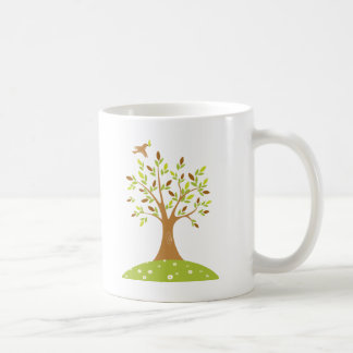 Tranquil Autumn Scene Coffee Mugs