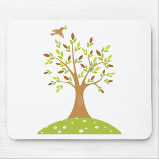 Tranquil Autumn Scene Mouse Pad