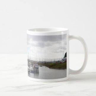 Tranquil Berths Basic White Mug