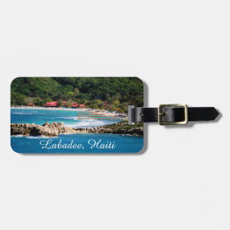 Tranquil Island Paradise Labadee Haiti Luggage Tag