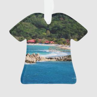 Tranquil Island Paradise Labadee Haiti Ornament