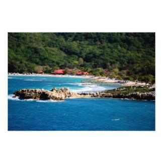 Tranquil Island Paradise Labadee Haiti Photograph