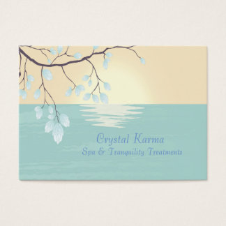 Tranquil Lake Scene Professional Business Card