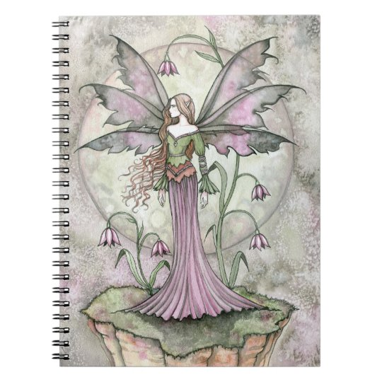 Tranquil Moon Flower Fairy Notebook