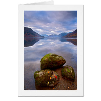 Tranquil morning, Ullswater, The Lake District Card