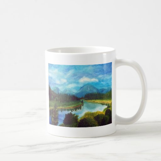 Tranquil Mountain Mugs