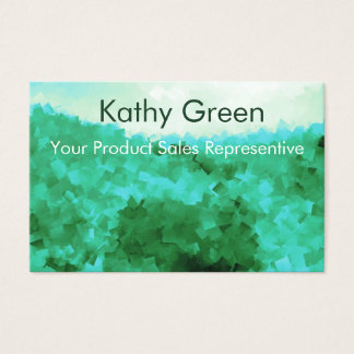 Tranquil Reflections Template Sales person Rep Business Card