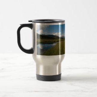 Tranquil River Stainless Steel Travel Mug