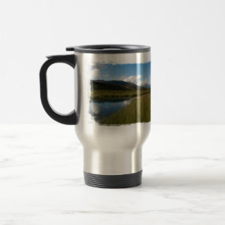 Tranquil River Stainless Steel Travel Mug