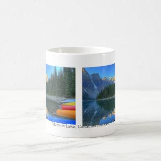 Tranquil Scene at Moraine Lake Coffee Mugs