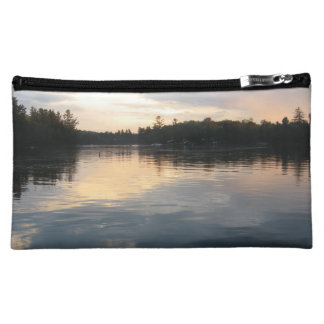 Tranquil sunset makeup bag