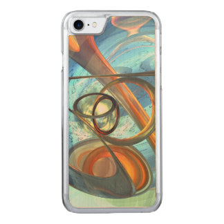 Tranquil Times Abstract Carved iPhone 8/7 Case